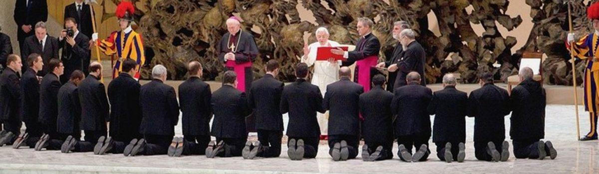 Le pape envoie en mission les pretres